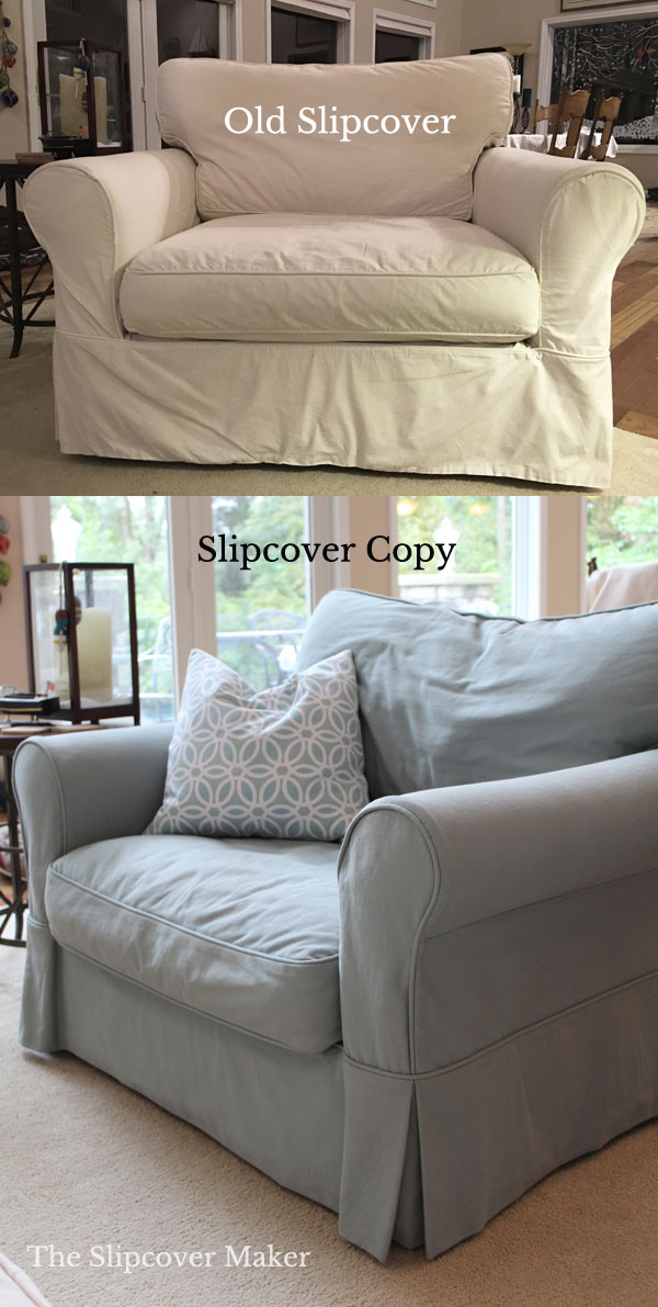 Slipcover Copy for Armchair