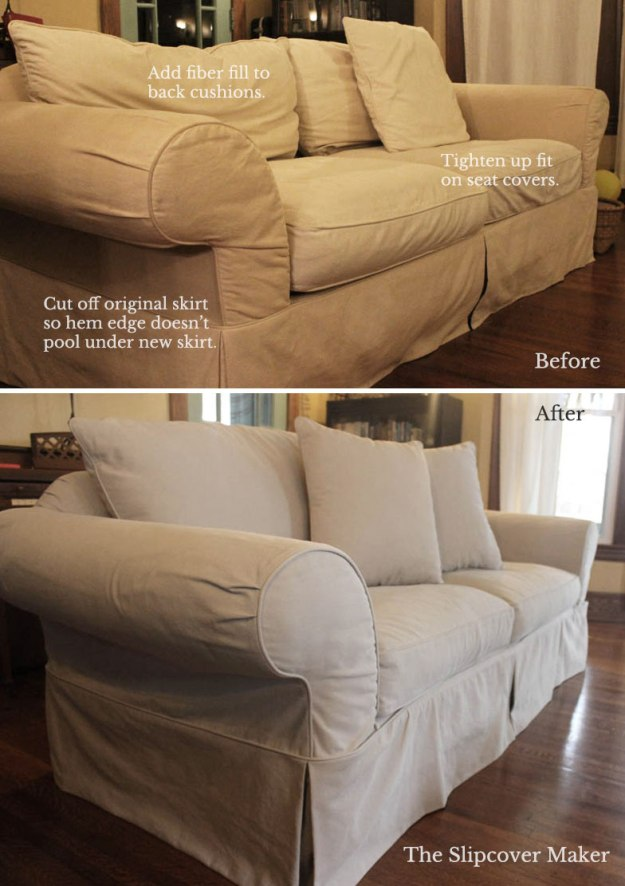 Denim Sofa Slipcover Design Tips