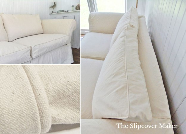Durable Natural Duck Slipcover