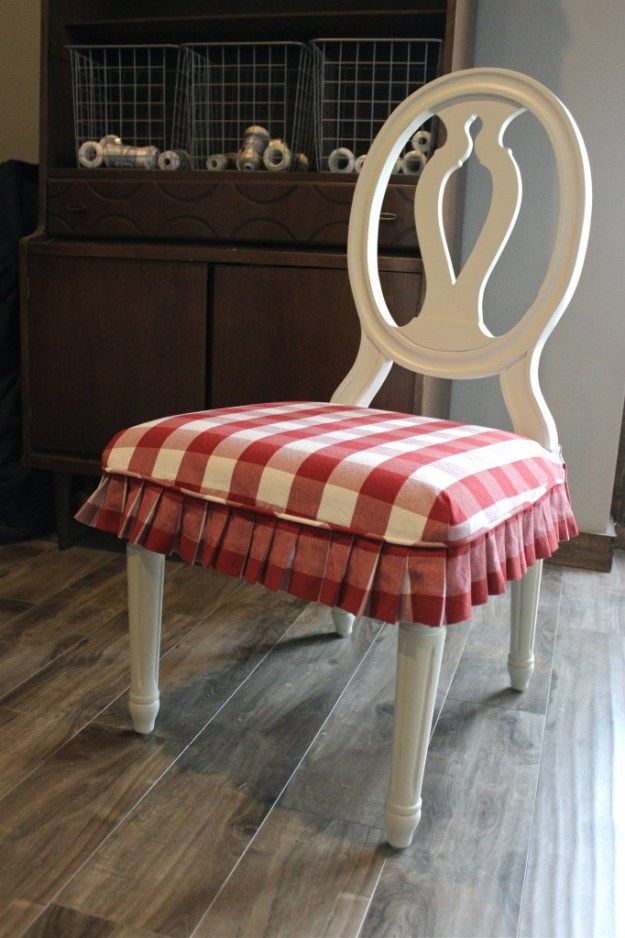 Red Buffalo Check Seat Cover