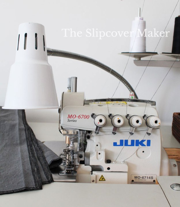 Industrial Serger for Slipcover Making