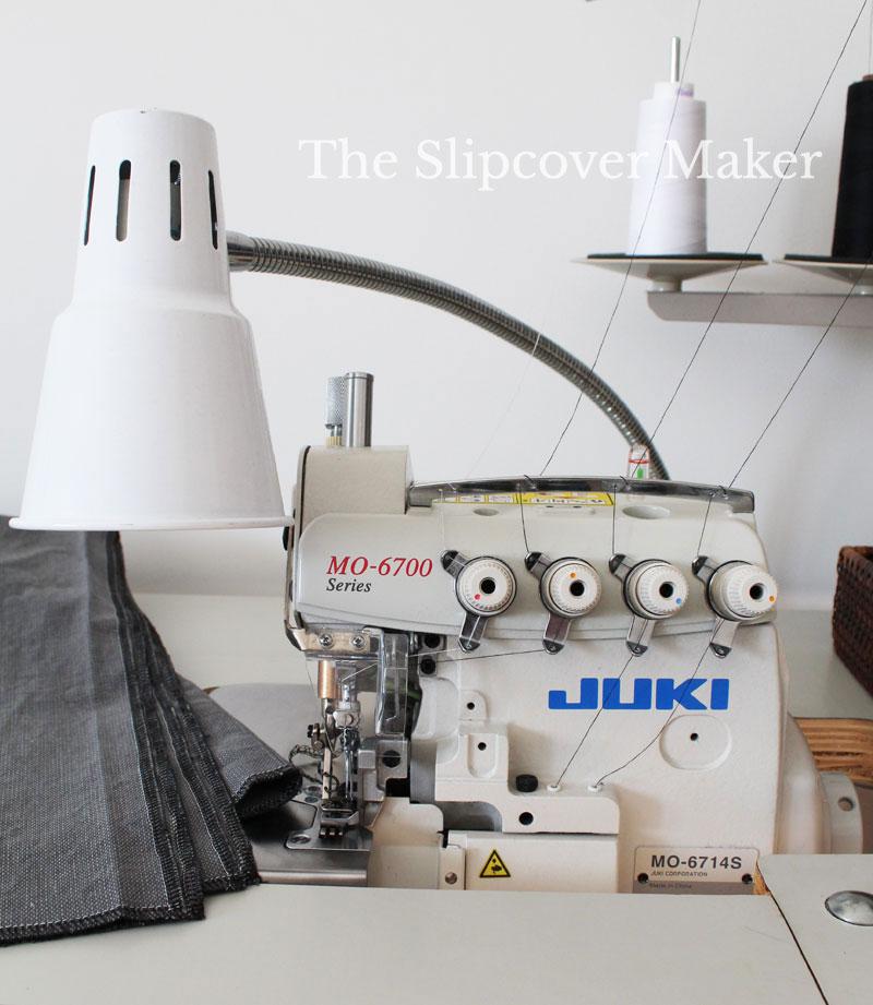 Industrial Serger for Slipcover Making