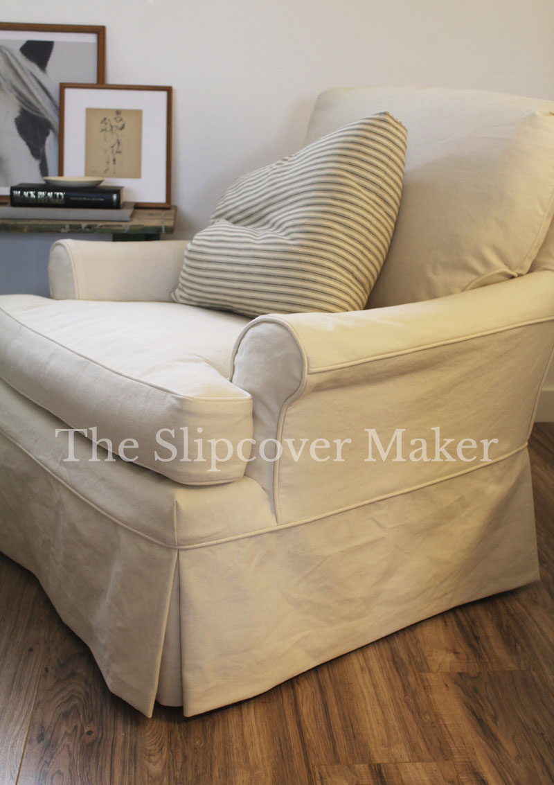 Slipcover Design: How to Handle Outer Arm Seams