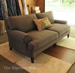 Cotton Poly Canvas sofa Slipcover