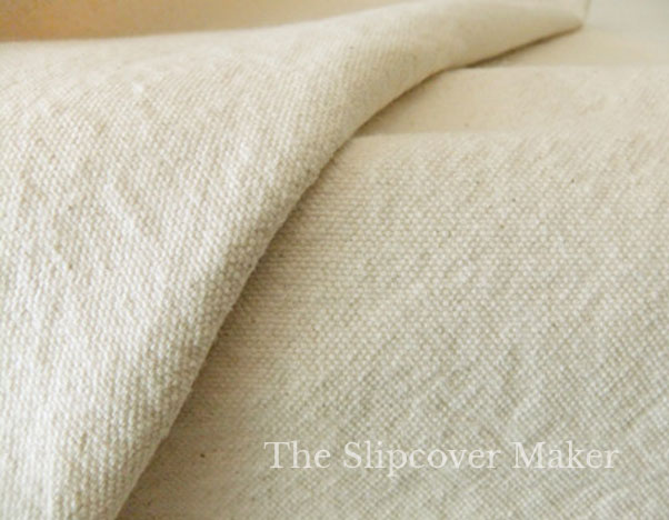 Slipcover Canvas 10 oz. Natural