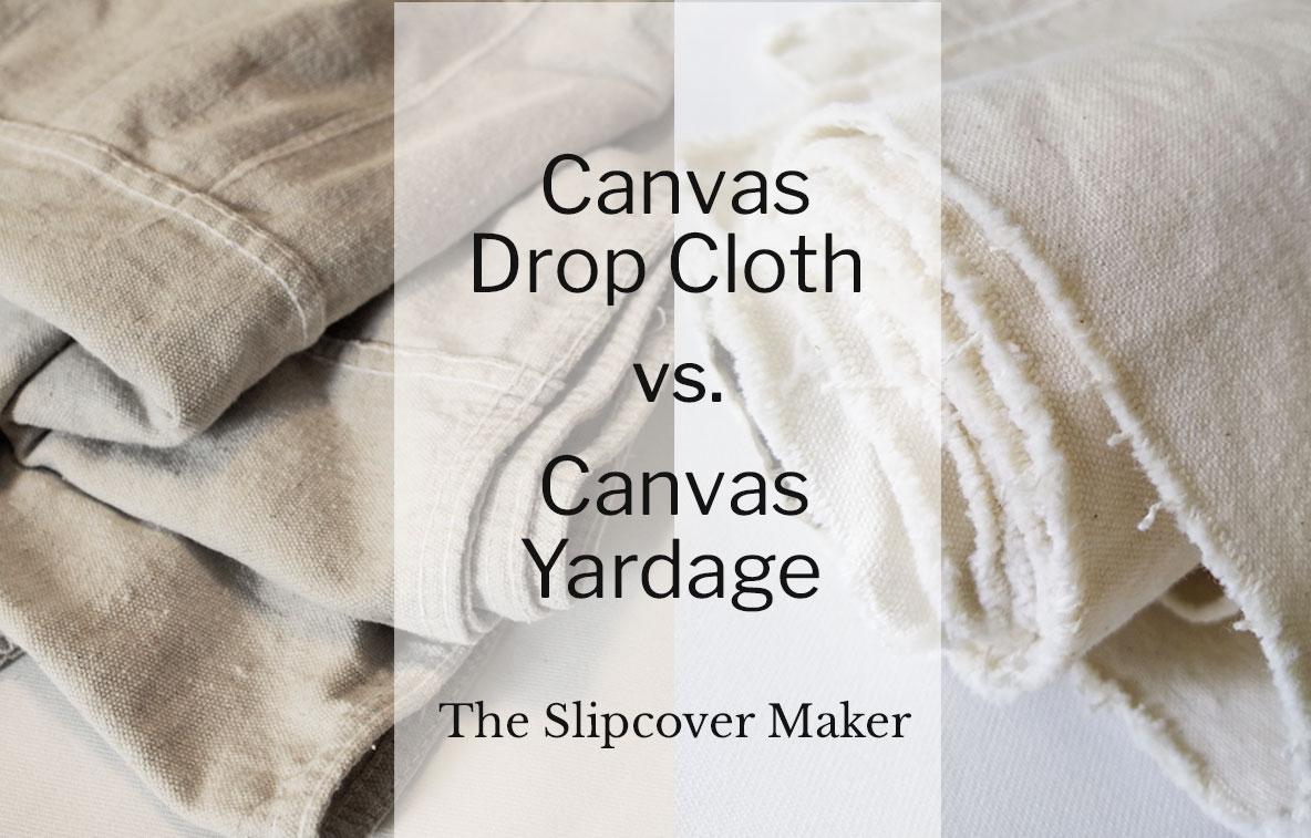 Slipcover Canvas Comparison