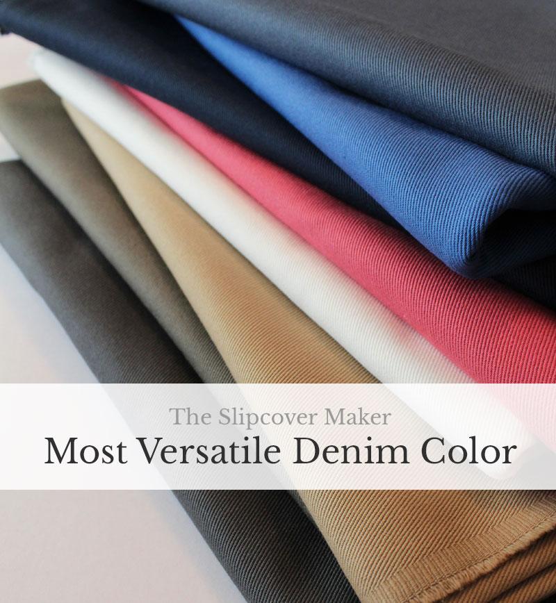 The Slipcover Maker Most Versatile Denim Color
