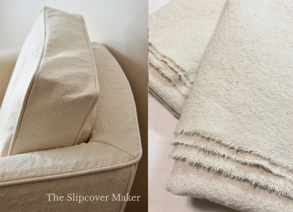 Chair Slipcover in Natural Canvas