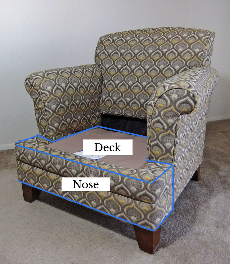 T-Deck and Nose Parts of Chair