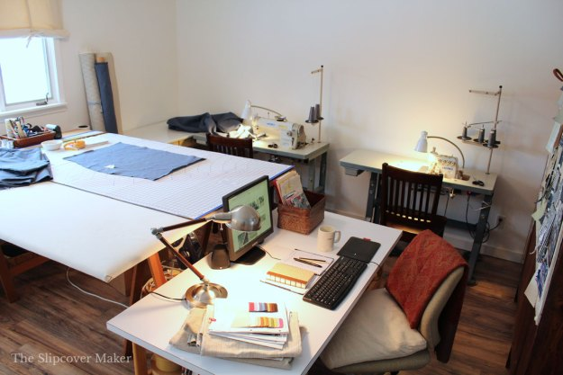Juki Industrial Machines for Slipcover Workroom
