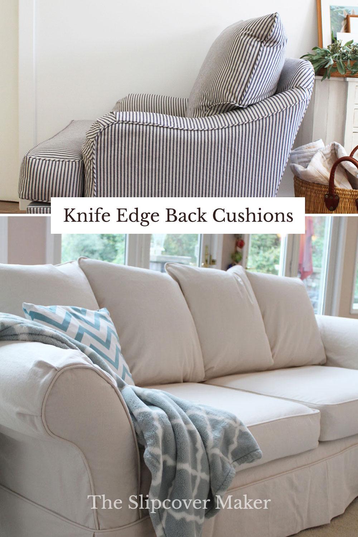 Knife Edge Cushion Slipcover Designs