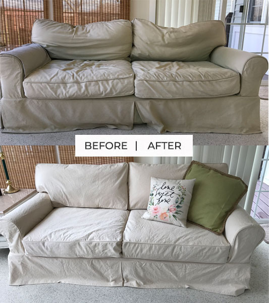 Natural Duck Sofa Slipcover Replacement