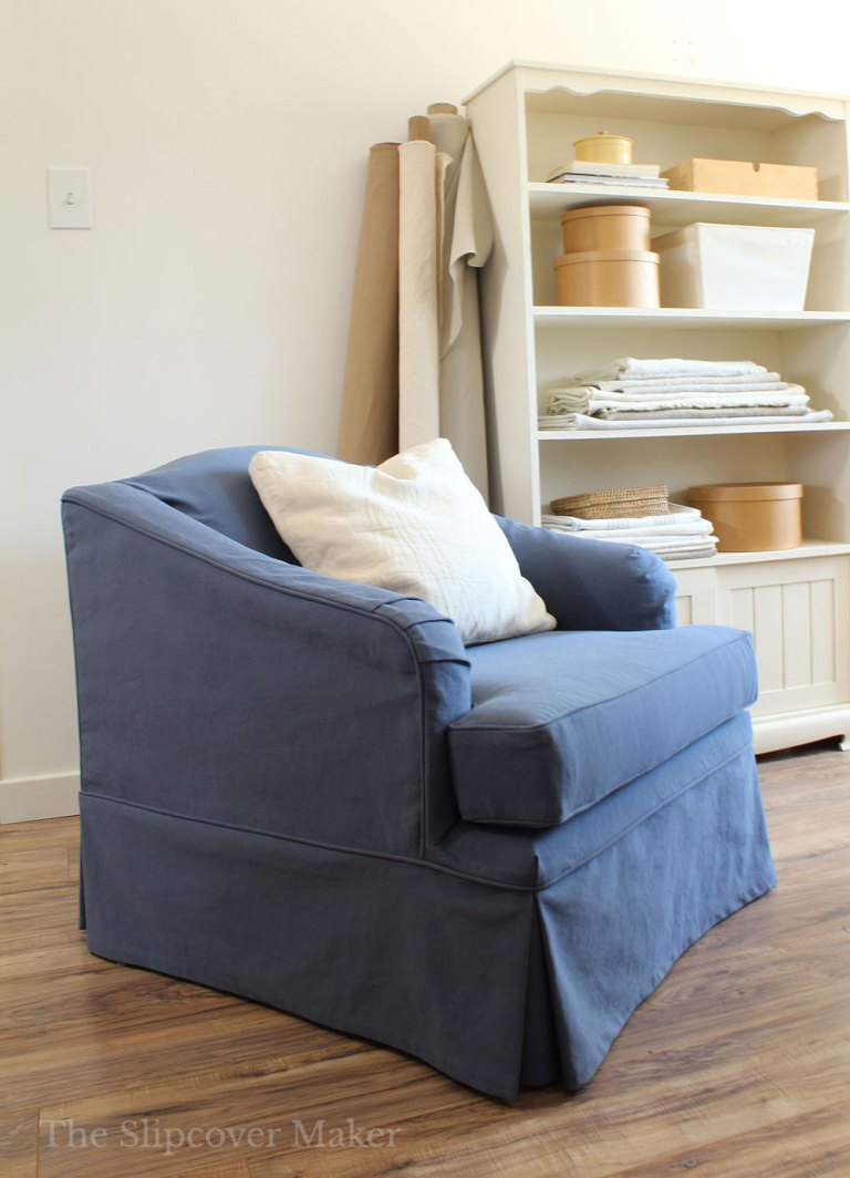 How To Pin Fit a Slipcover Right Side Out
