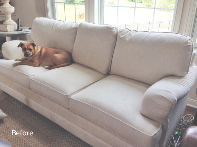 good sofa fabric for dogs small two seater slipcover | the maker