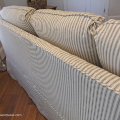 Right Arm Sleeper Sofa Southwark Council Collection Slipcover | The Maker