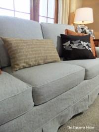 linen slipcovers | The Slipcover Maker