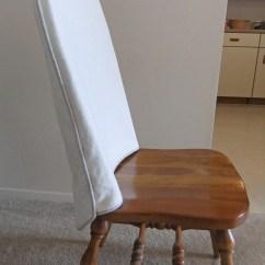 Folding Chair Slipcovers Wooden Corner Dining Room | The Slipcover Maker