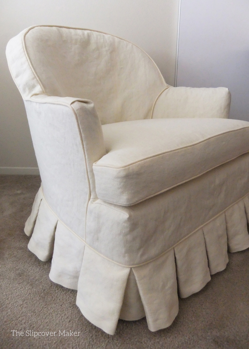Slip Covers For Chairs Custom Hemp Slipcovers Update Old Chairs The Slipcover Maker