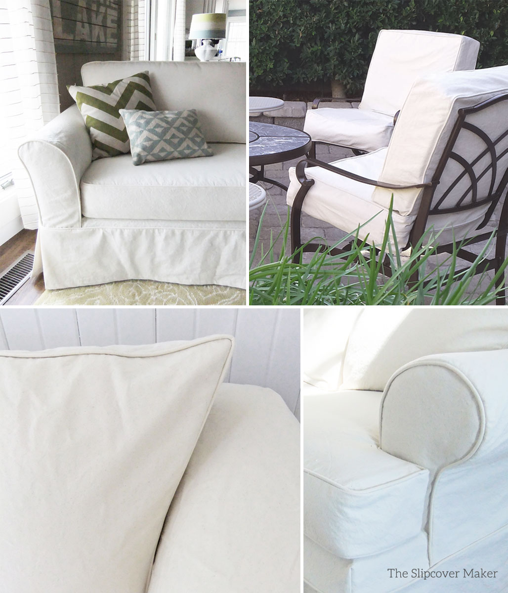 white sofa slipcover cotton set cushion covers the maker custom slipcovers tailored to fit