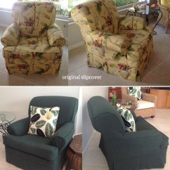 Living Room Slipcovers Beach Style Rooms Chair The Slipcover Maker Hunter Green Canvas Copy