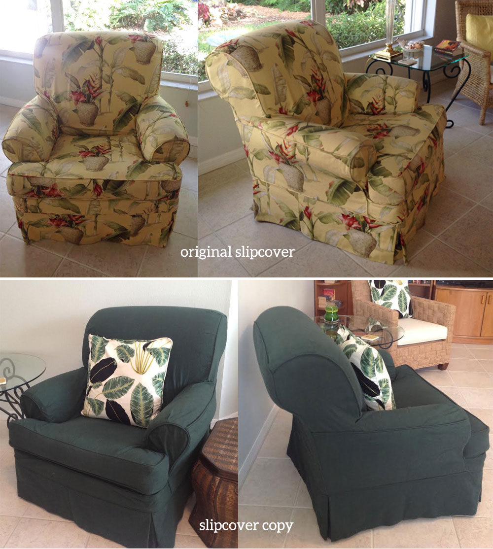 living room slipcovers wall units chair the slipcover maker hunter green canvas copy