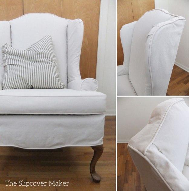 Chair Slipcovers Wingback