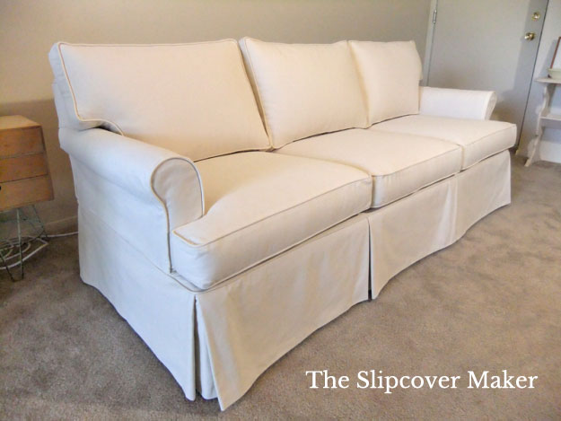 paramount sofa ethan allen best bed canada 2017 natural canvas slipcover for the maker inspiration