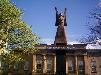 Spanish civil war statue