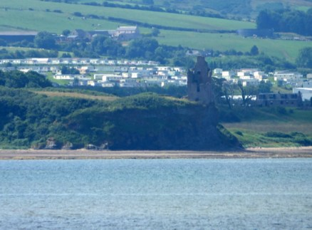 I think this is Greenan Castle. A great example of how not to take a photo.