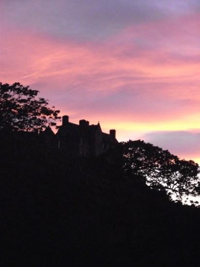 A more colourful Picture of Edinburgh castle