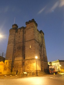 Newcastle Keep. Like Berwick they built a railway right through the castle.