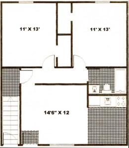 Pine Apartments Glenn Floor Plan 2