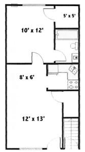 Thunderbird 1 Bedroom Apartment