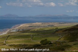 Looking across Shell Island to the Llyn Peninsula