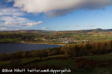 Another view across to Bala