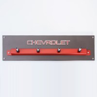 Custom Chevrolet Spark Plug Coat Rack | Custom Coat Rack ...