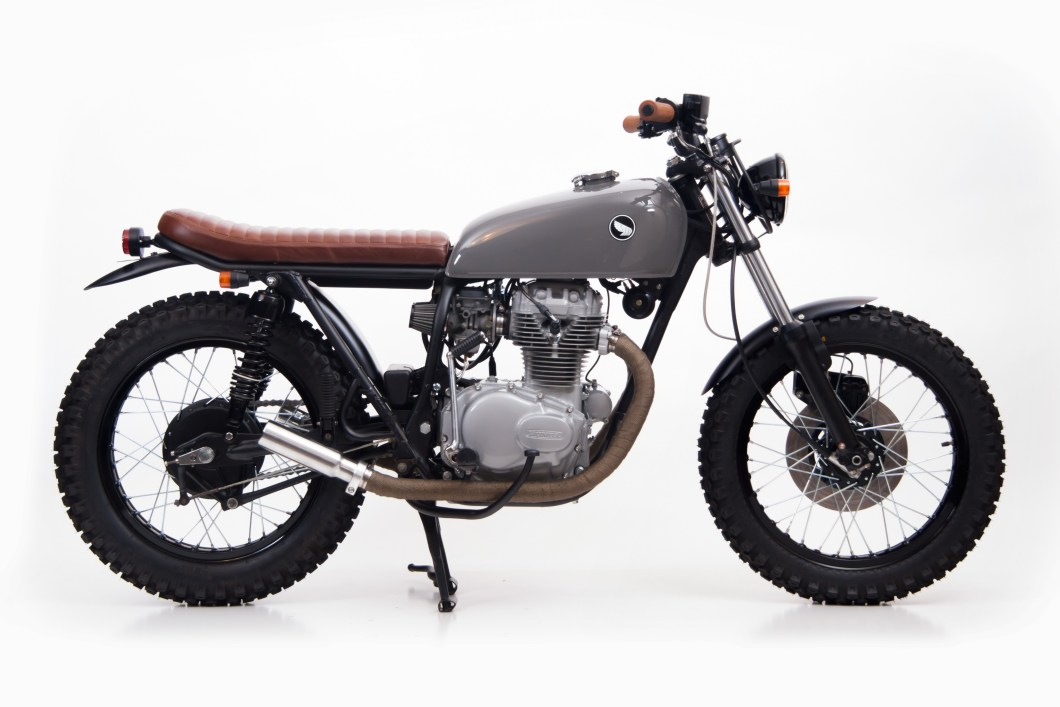 1974 Honda Cb360 Scrambler Slipstream Creations