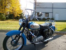 Custom Motorcycle Windshield Graphics - Year of Clean Water