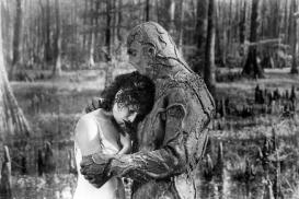 SWAMP THING, Adrienne Barbeau, Dick Durock, 1982, (c) Embassy Pictures