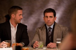 "(L-r) RYAN GOSLING as Jacob and STEVE CARELL as Cal in Warner Bros. Pictures' comedy ""CRAZY, STUPID, LOVE."" a Warner Bros. Pictures release."