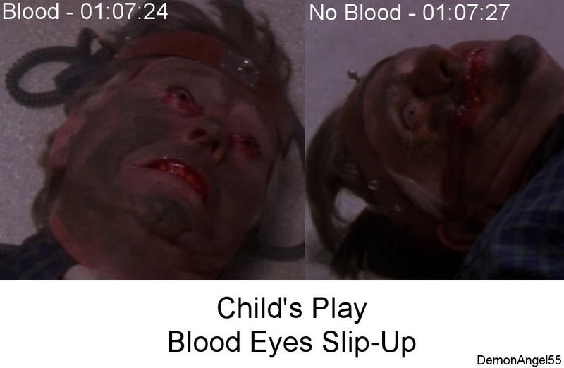 Childs Play Movie Blooper