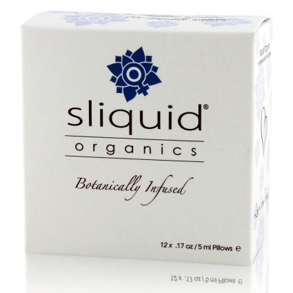 Organics lube Cube - Sliquid - Lube Sampler - Best Organic Lube