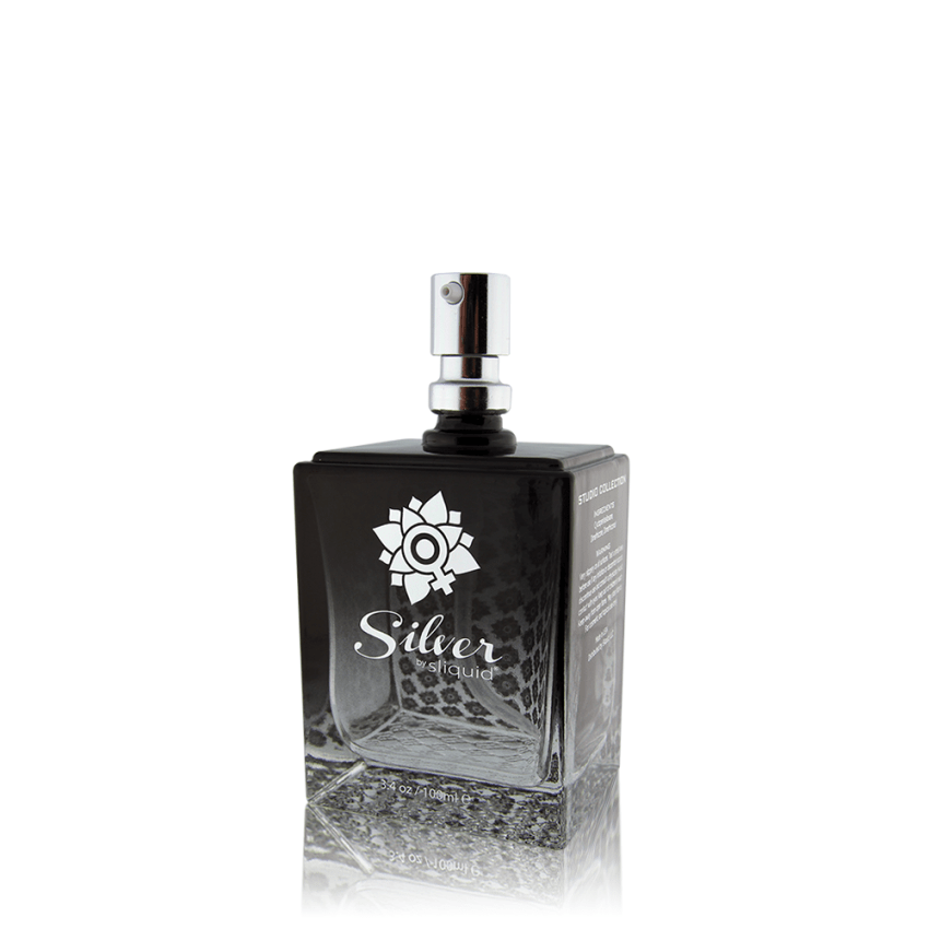 Silver Studio Collection - Sliquid - Best Silicone Lube - Lube with pump top