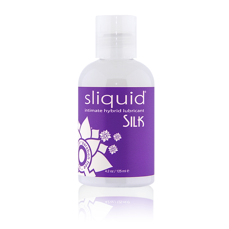 Silk 4oz - Natural Lube - Hybrid Lube - Best Lube - Lube for Women - Sliquid