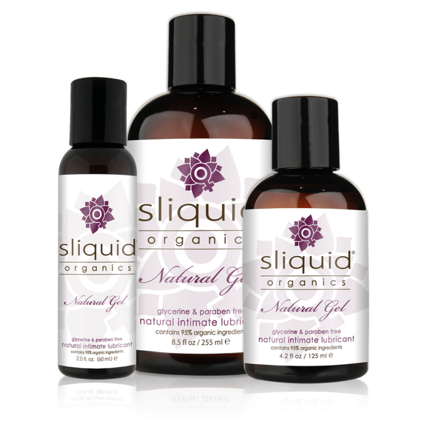 Sliquid Organics - Natural Gel - Organic Gel Lube - Group Photo