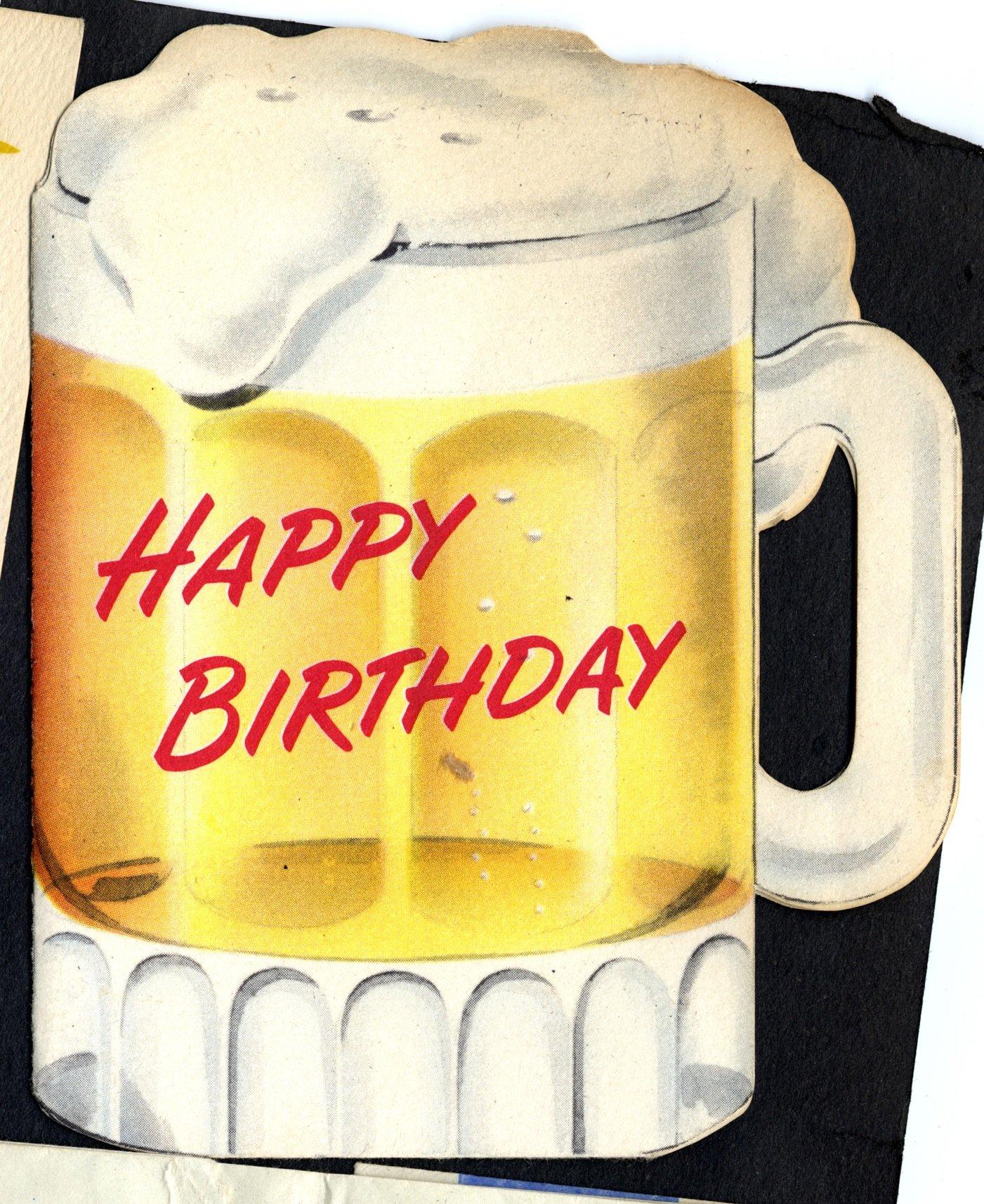 Edith Hornik Beer Digital Scrapbook Birthday Card To