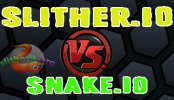 Slither.io vs Snake.io