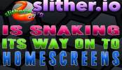 Slither.io is snaking its way on to homescreens