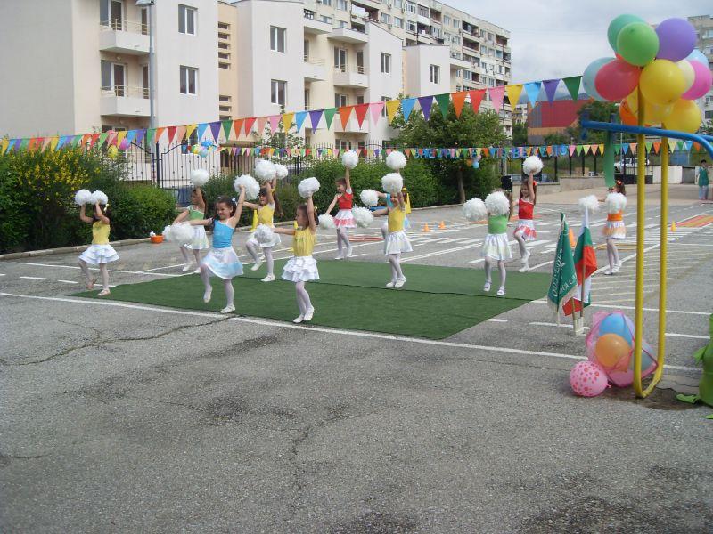 """Спортен празник се състоя в детска градина """"Еделвайс"""" в Сливен"""