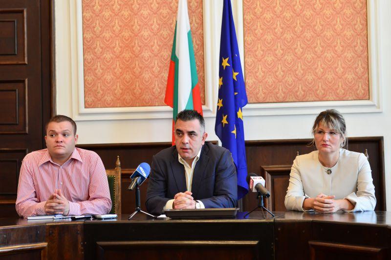 Кметът Стефан Радев: Общинското предприятие по озеленяване ще повиши качеството на дейността